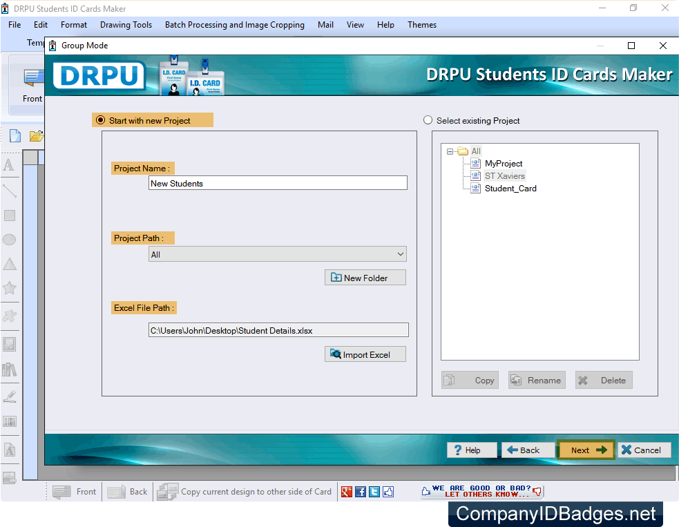 Screenshots Of Student Id Cards Maker To Know How To Design Student