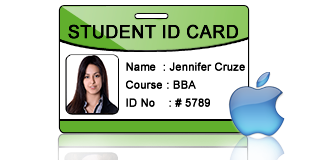 Students Id Cards Maker For Mac Design Student Id Cards For Mac