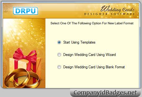 Wedding card designer software to make invitation cards to invite